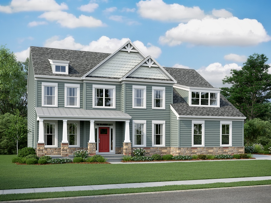 Chelsey Classic   - Chelsey, Elevation 5, Stone Water Table, Dormers