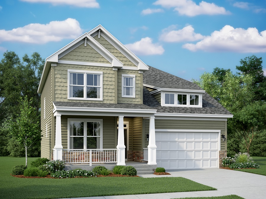Eliot Heritage - Craftsman w/ Front Porch and Opt. Dormer