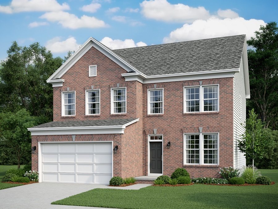 Front Elevation Bricks : Montvale classic a bedroom bath home in cranes corner