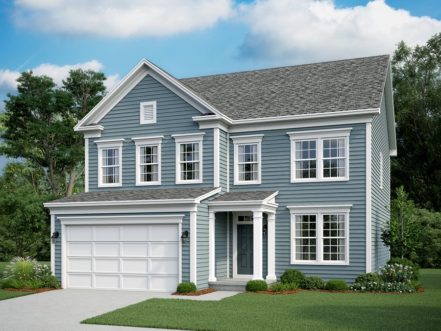 Montvale    - The Montvale Elevation B
