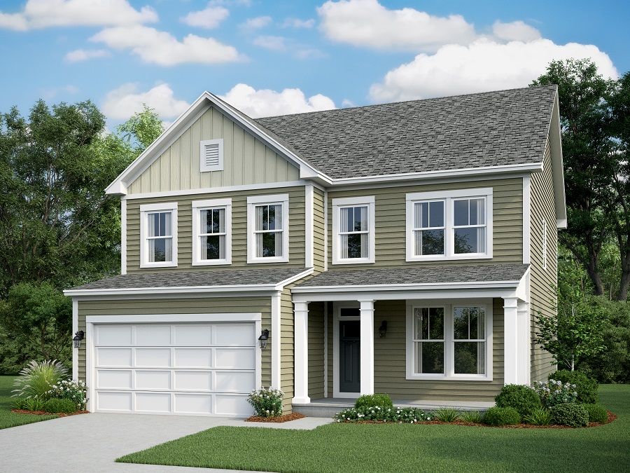 Montvale    - The Montvale Elevation C
