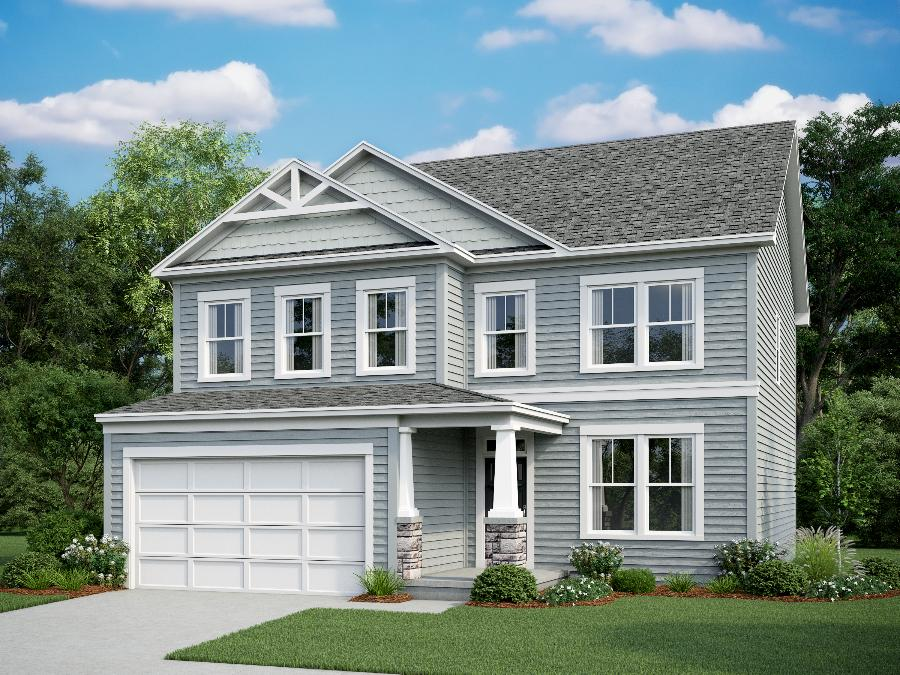 **Actual home exterior colors and selections may vary. Please contact sales associate for color selections and design center information.
