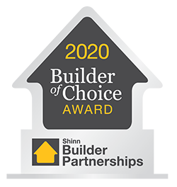 2020 Builder of Choice Award - Shinn Builder Partnerships