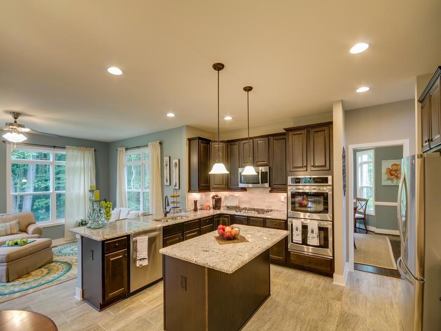 The Chelsey With Morning Room, Extended Family Room, Gourmet Kitchen, UPG4  Alaska White Granite Countertop, Tier 5 Ceramic Tile Flooring, Oil Rubbed  Bronze ...