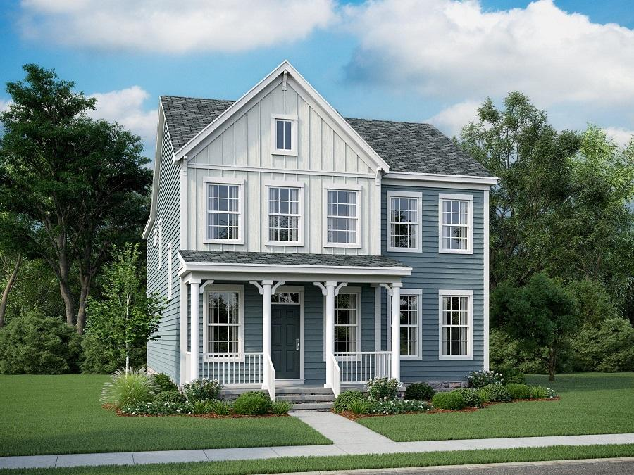 Stone Mill Elevation Profile : Lexington a bedroom bath home in embrey mill new