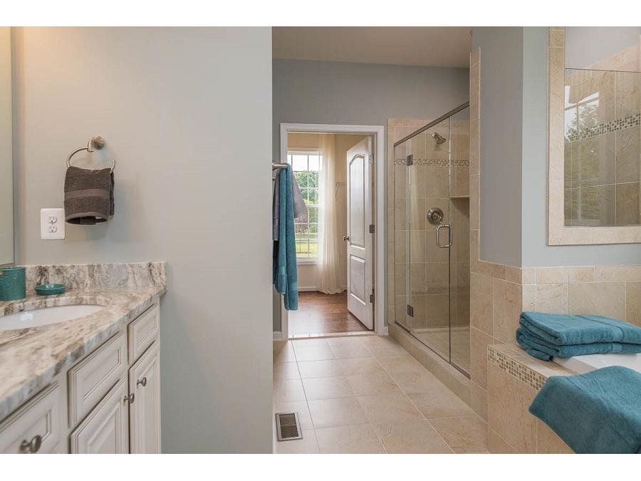 The Owner's Bathroom at the Bridgewater II is a luxurious retreat at the end of the day.