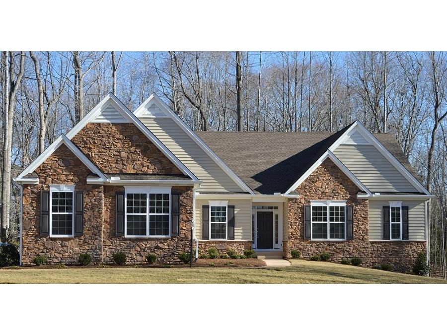 Bridgewater ii a 3 bedroom 2 bath home in fawn lake a new for 3 car side load garage