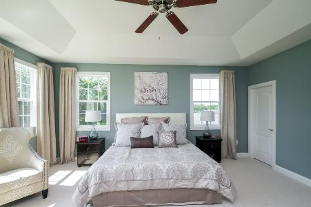 The Emerson, Master Bedroom at RiverCreek