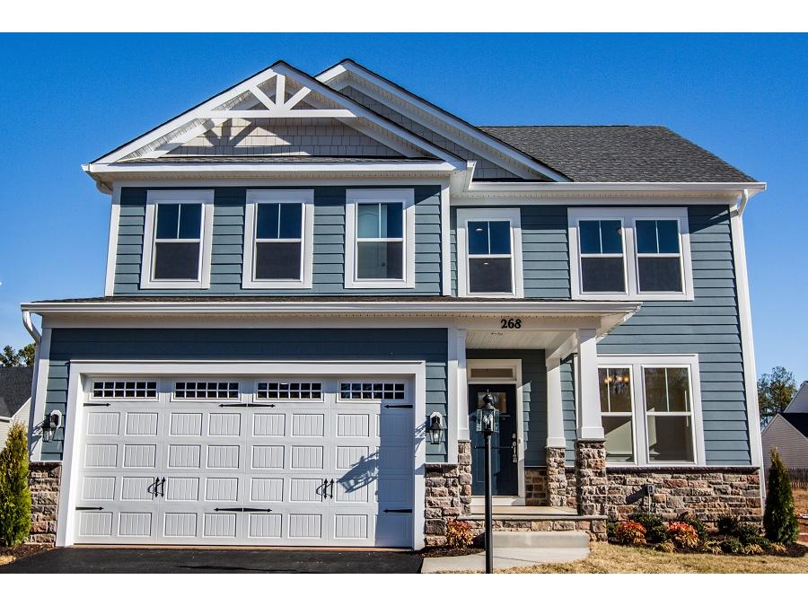 The Two-Story Montvale offers flexibility and open concept with ample bedrooms on the Upper Level