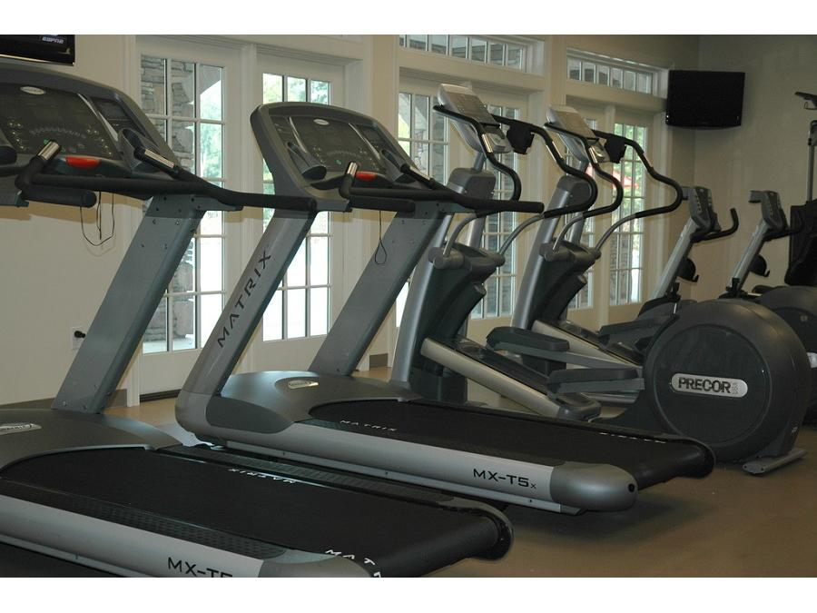 The fitness center is located conveniently at the Spring Creek Club House just moments away from your brand new home.